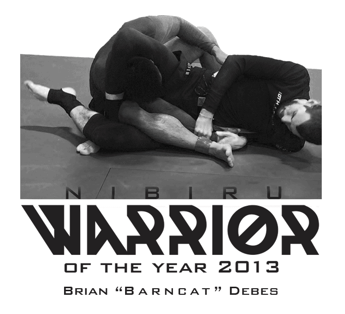 Brian Barncat Debes 10th Planet Brazilian Jiu-Jitsu Nibiru Warrior of the Year 2013